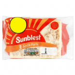 Sunblest Soda Farls 3 pack